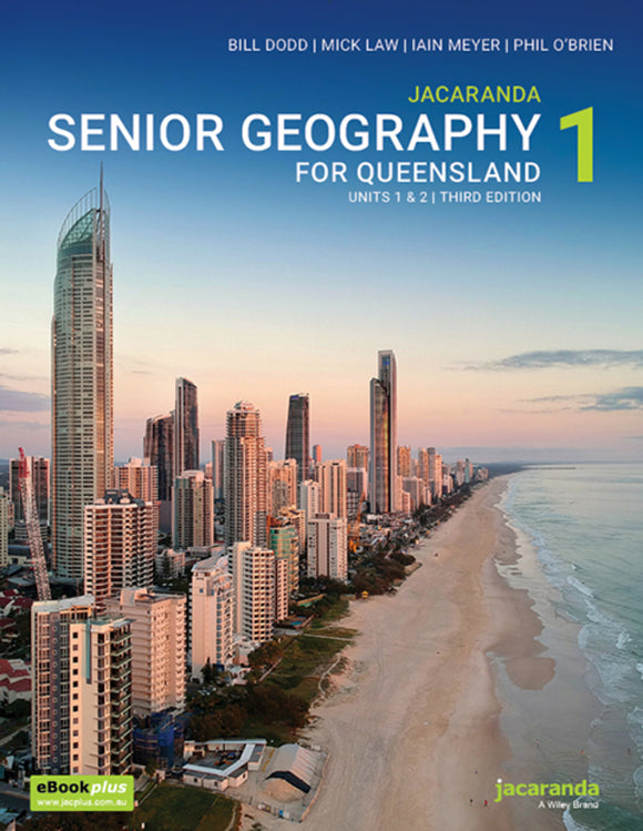 Senior Geography for Queensland Book 1 3rd Ed & eBookPLUS 9780730363781