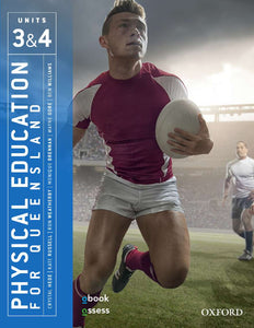 Physical Education for Queensland Units 3 & 4 2nd Ed Student book + obook assess 9780190313241