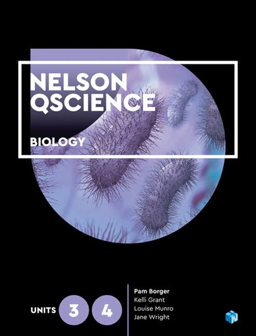 Nelson QScience Biology Units 3 & 4 (Student Book with 4 Access Codes) 9780170411677