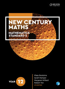 New Century Maths 12 Mathematics Standard 2 Student Book + 4 Access Codes 9780170413633