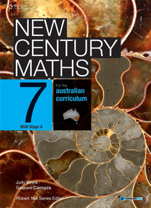 New Century Maths 7 for the Australian Curriculum NSW Stage 4 (Student Book with 4 Access Codes) 9780170188777