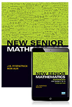 New Senior Mathematics Advanced Years 11 & 12 Student Book with eBook 9781488618291