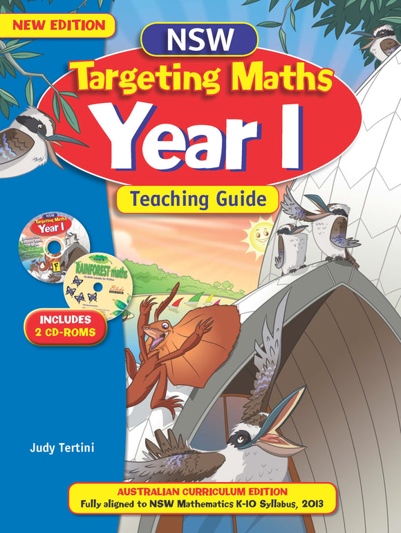 NSW Targeting Maths Australian Curriculum Teaching Guide Year 1 9781742151427