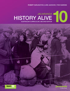 Jacaranda History Alive 10 for the AC 2nd Ed LearnON & Print 9780730346555