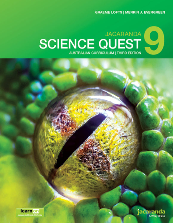 Jacaranda Science Quest 9 for the AC 3rd Ed LearnON & Print 9780730346920