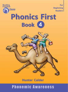 Reading Freedom Phonics First Level Book 4: Beginning & Ending Blends Ages 4+ 9781740200196