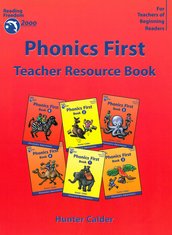 Reading Freedom Phonics First Teacher Resource Book 9781740200226