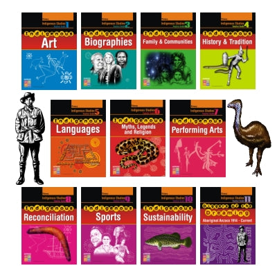 Indigenous Studies Teacher Guides Bundle Primary INDTGP11B