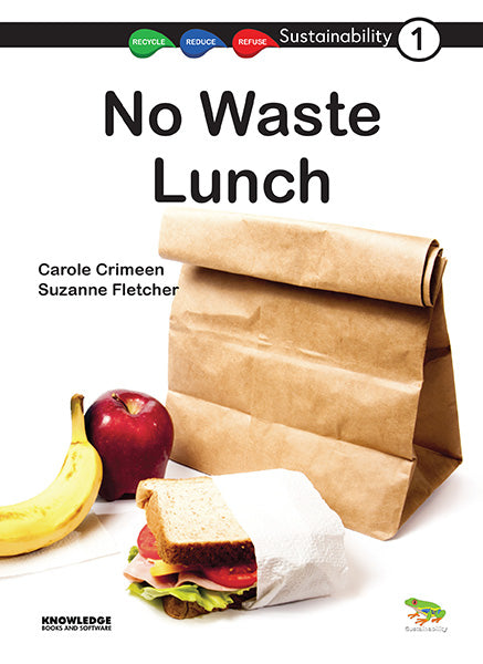 No Waste Lunch 9781922370105