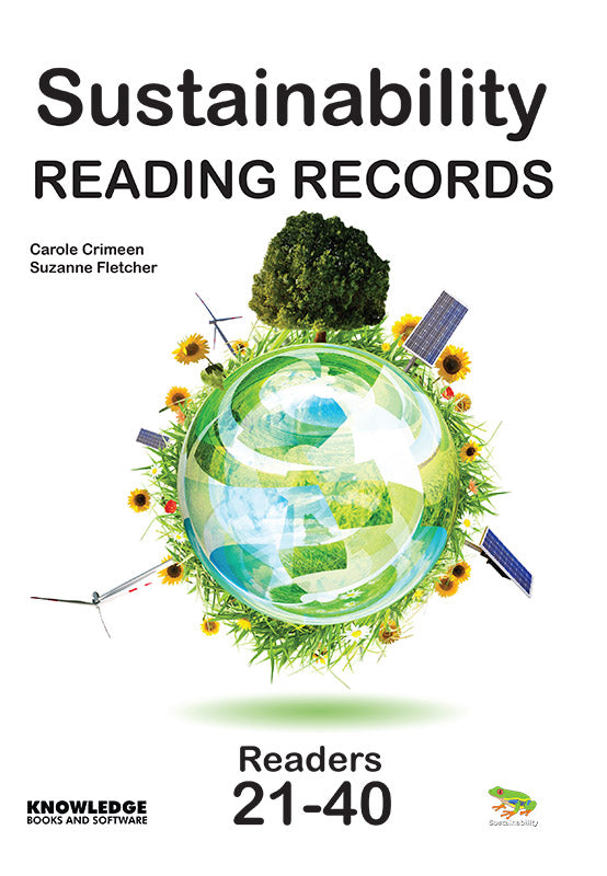 Sustainability Set 2 Reading Records 9781922370563