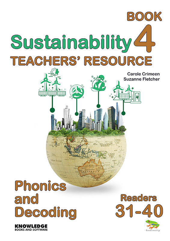 Sustainability Set 2 Readers 31-40 Teacher Resource 9781922370587