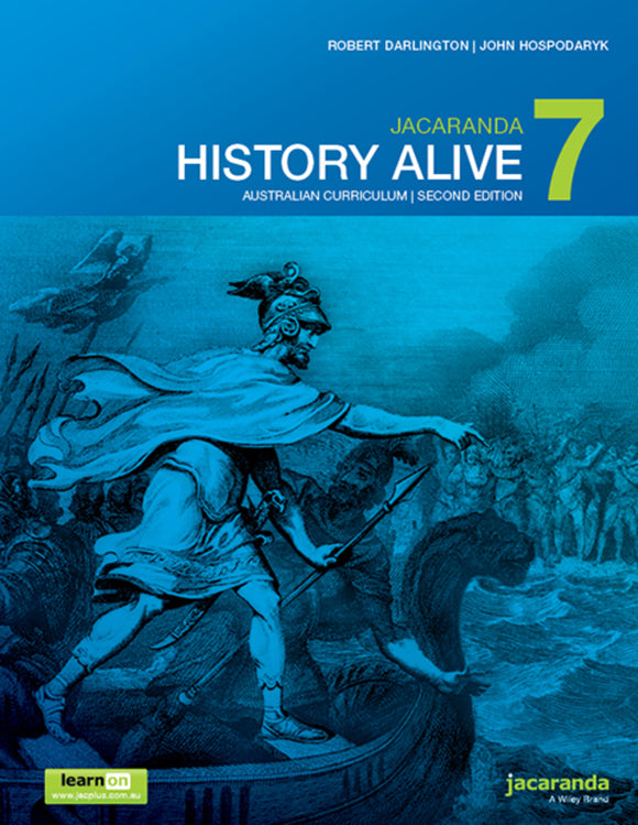 Jacaranda History Alive 7 for the AC 2nd Ed LearnON & Print 9780730346517