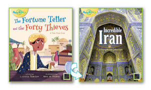 Fortune Teller and Forty Thieves, The/Incredible Iran (Iran) Big Book 9780947526115