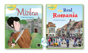 Mizilca/The Real Romania (Romania) Small Book 9780947526047