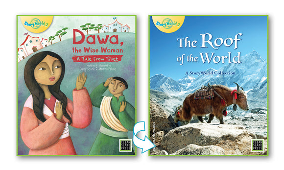 Dawa the Wise Woman/The Roof of the World (Tibet) Big Book 9780947526108