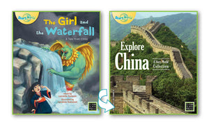 Girl and the Waterfall, The/Explore China (China) Big Book 9781927244715