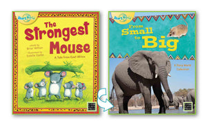Strongest Mouse, The/From Small to Big (East Africa) Big Book 9781927244692