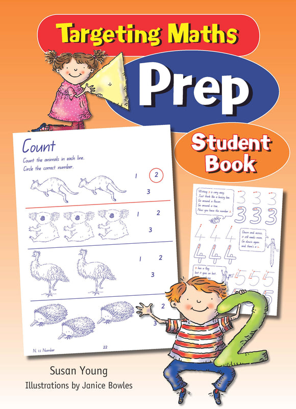 Targeting Maths Prep Student Book Prep 9781742151243