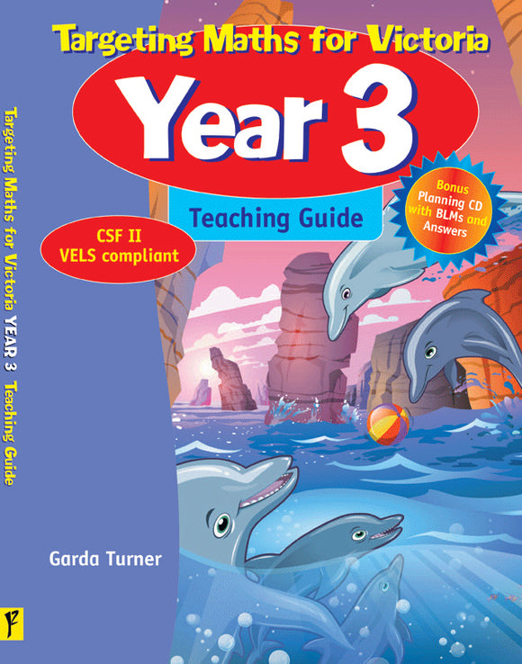 Targeting Maths for VIC Teaching Guide Year 3 9781740201711