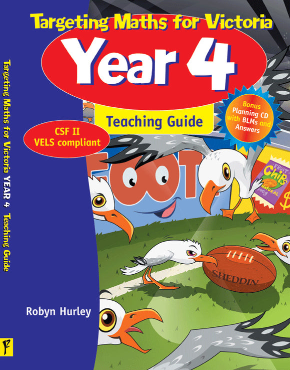 Targeting Maths for VIC Teaching Guide Year 4 9781740201728
