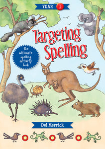 Targeting Spelling Activity Book Year 1 9781925490190