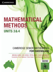 CSM QLD Mathematical Methods Units 3 and 4 9781108451642