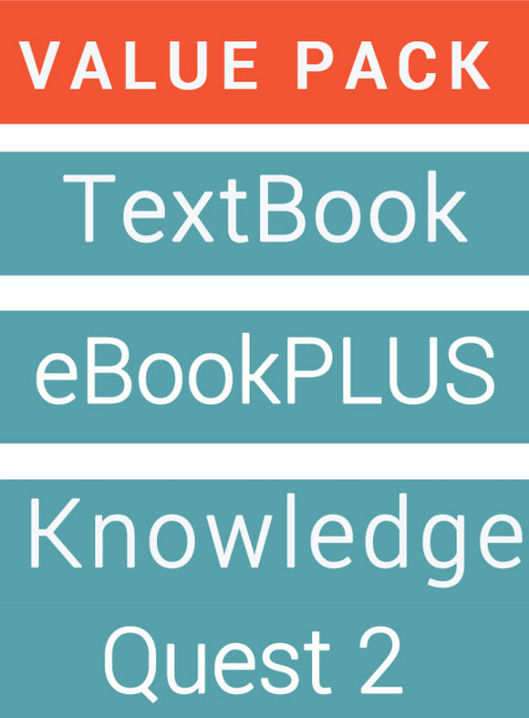 English is... English for the AC Year 8 & LearnON + Knowledge Quest for English 2 Workbook & Game Value Pack 9780730317364