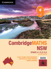 Cambridge Maths Stage 5 NSW 2nd Ed Year 9 5.1/5.2/5.3 9781108468169