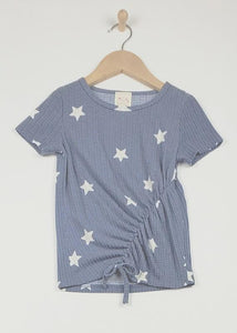 Sarah Star Cinched Top - Youth