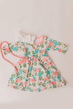 Load image into Gallery viewer, Parks + Price Dancing Flowers Swing Dress