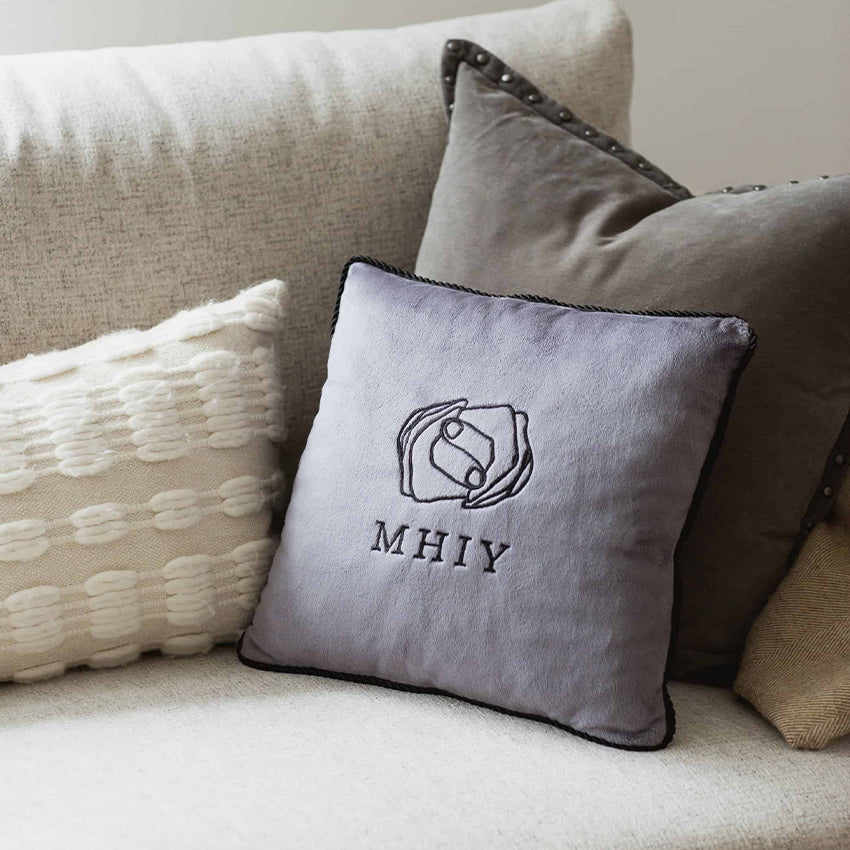 MY HAND IN YOURS™ comfortable pillow great gift for family and holidays