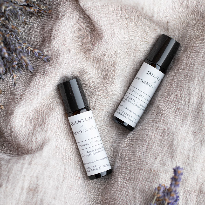 MHIY™ Essential Oils - Lavender Oil Roll-On produced by Bilston Creek Farm in Victoria Canada - Product Photo 1