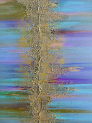 Acrylic Painting - Abstract Acrylic Painting Mix Media Art
