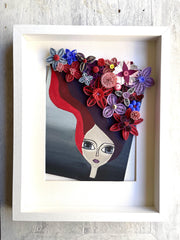 Arts & Crafts - Whimsical Floral Girl