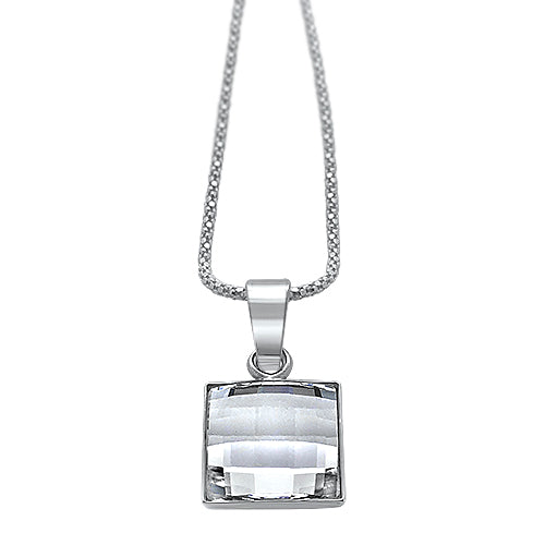 Chessboard Crystal Pendant