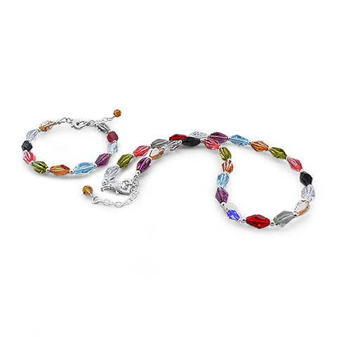 Polly Pick & Mix Crystal Bracelet