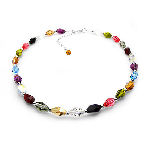 Polly Pick & Mix Crystal Necklace