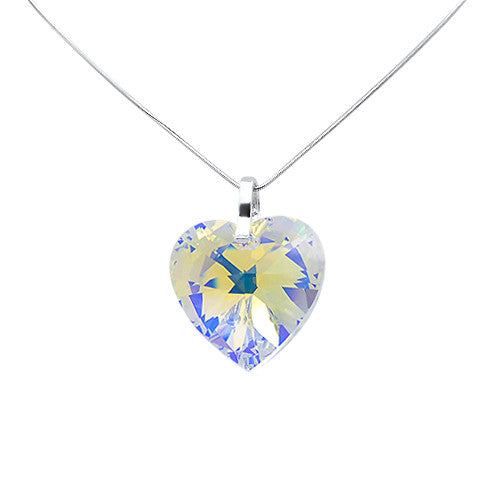 4e3b78446 Love 2 U Crystal Heart Pendant – Janis Allyn Jewellery