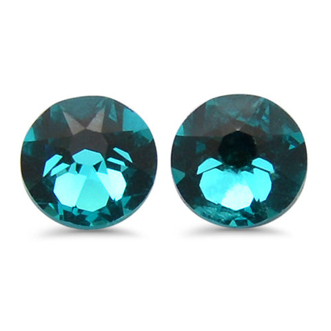 Crystal Flat Back Stud Earrings