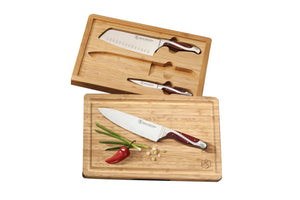 3 Piece Bamboo Case Set