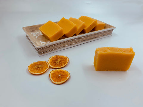 Carrot, Ginger and Orange Soap