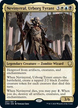 Nevinyrral, Urborg Tyrant [Commander Legends] | Boardwalk Games TX