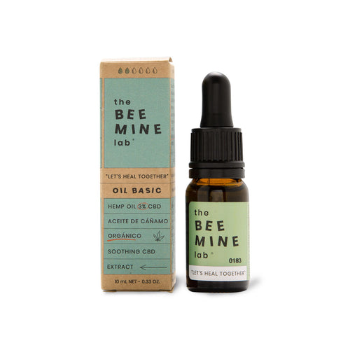 ACEITE DE CBD BASIC 3% - BEEMINE 10ml