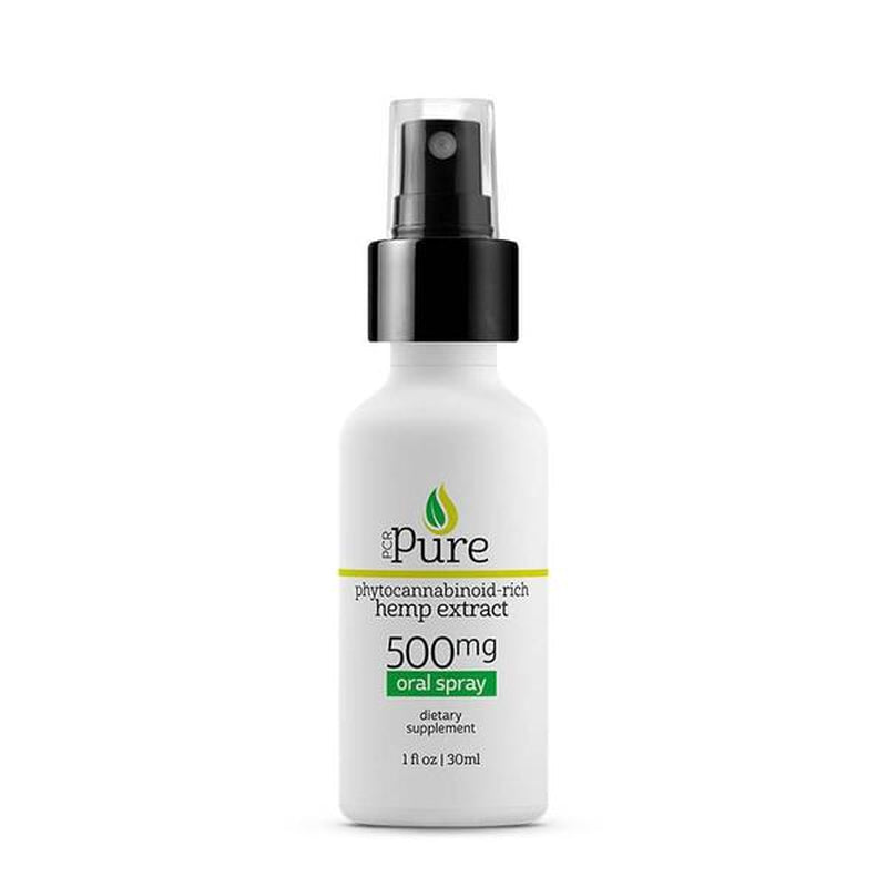 PCR Pure - CBD Tincture Spray - Full Spectrum - 500mg-1000mg