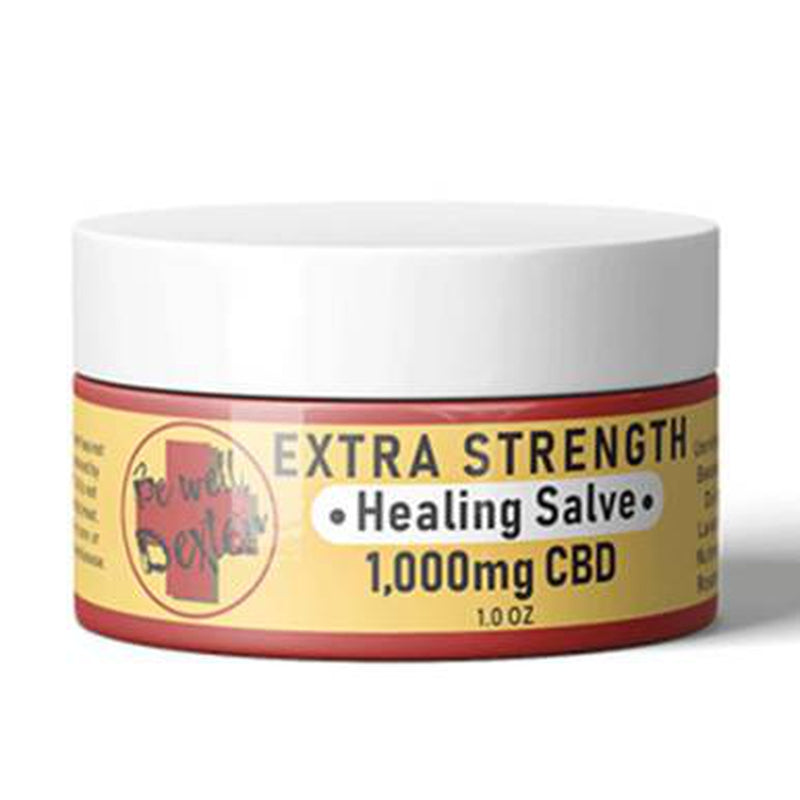 Be Well Dexter - CBD Topical - Extra Strength Healing Salve - 1000mg