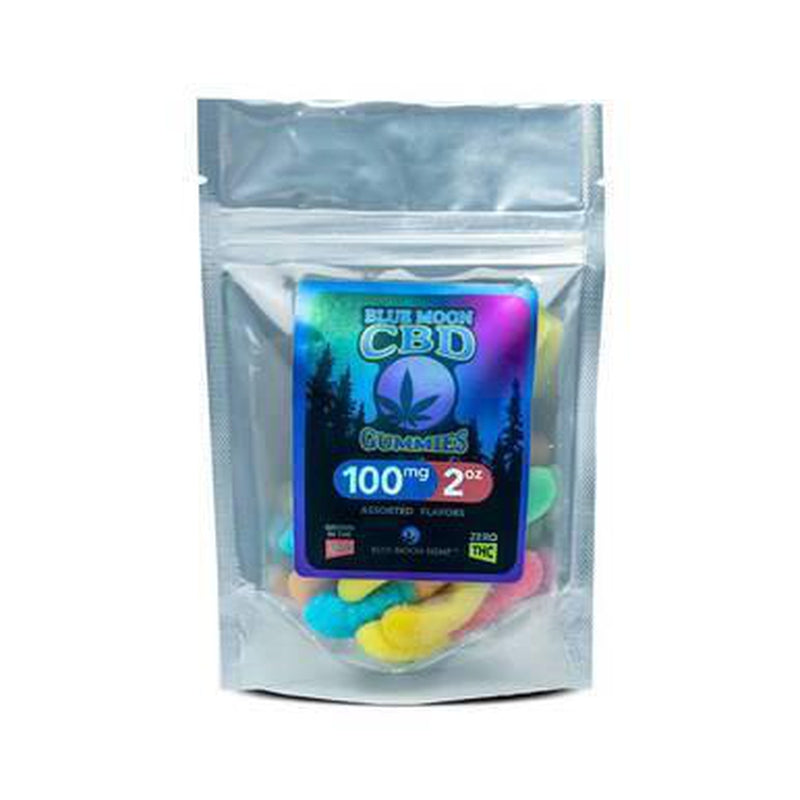 Blue Moon Hemp - CBD Edible - Gummies - 2oz-100mg