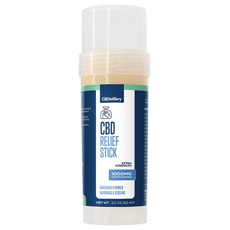 CBDistillery - CBD Topical - Broad Spectrum Relief Stick - 1000mg
