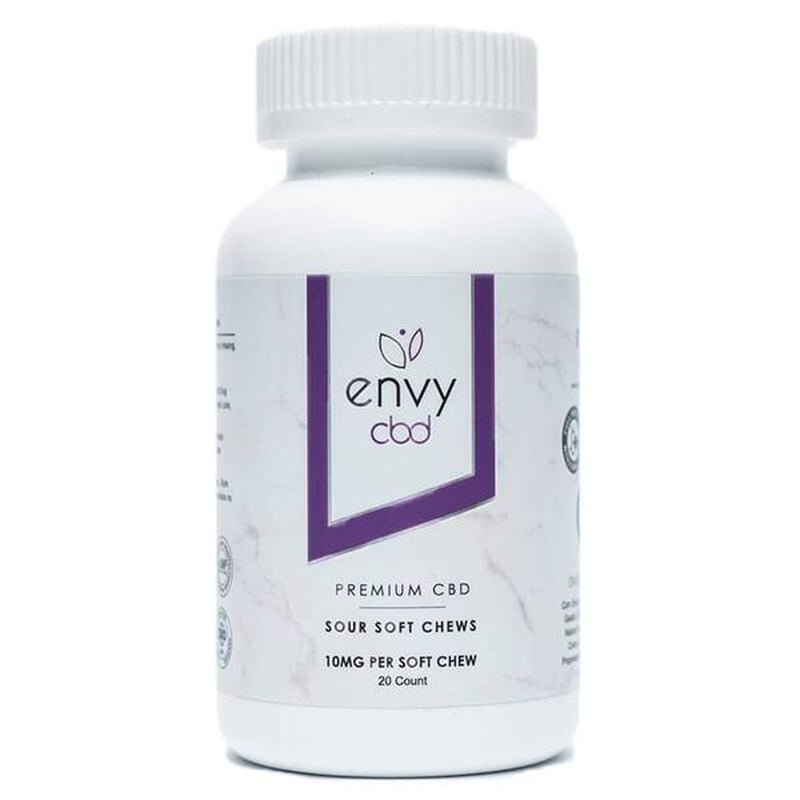 ENVY CBD - CBD Edible - Sour Soft Chew Gummies - 10mg