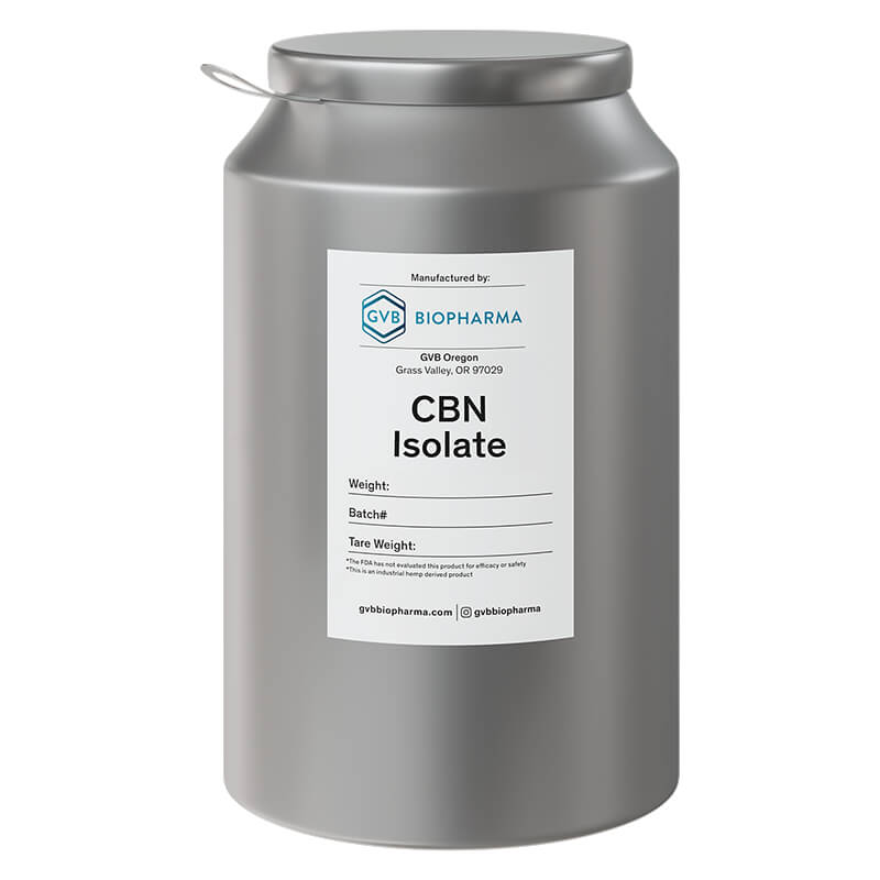 GVB BIOPHARMA - CBD Raw Materials - CBN Isolate - 1kg
