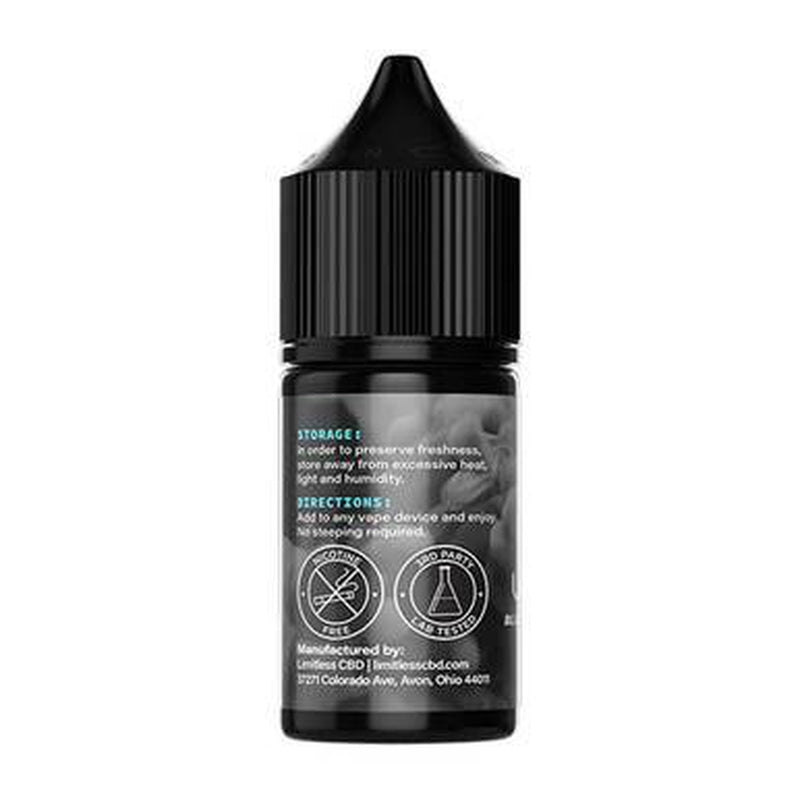 Limitless CBD - CBD Vape - Blueberry Cotton Candy E-Liquid - 1500mg
